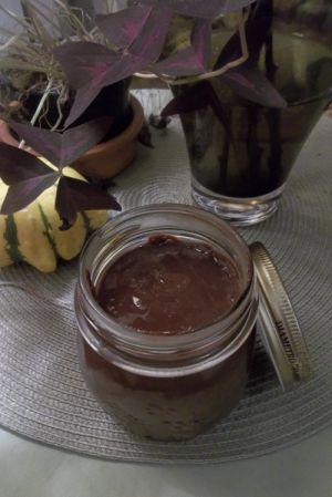 Recette Pâte à tartiner maison, chocolat/amande