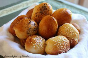 Recette Petits pains briochés ou pains navettes