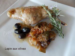 Recette Lapin aux olives