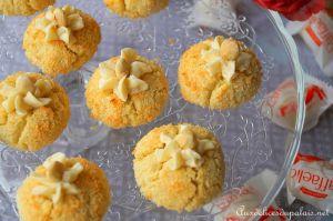 Recette Biscuit sablé à la noix de coco & chocolat blanc