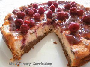 Recette Cheesecake aux framboises (Rapsberries cheesecake)