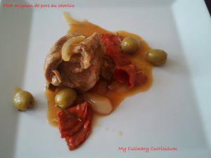 Recette Filet mignon de porc au chorizo