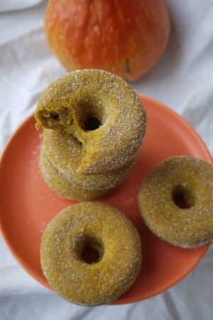 Recette Doughnut à la courge, encore un trompe-l-oeil pour les papilles