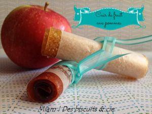 Recette Cuir de fruit aux pommes