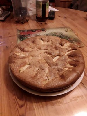 Recette Gateau pommes mascarpone