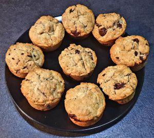 Recette Muffins au yaourt et aux pépites de chocolat