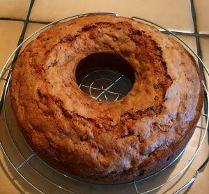 Recette Gâteau pomme-noisettes