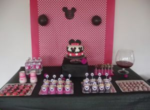 Recette Sweet table Minnie