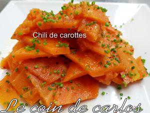 Recette Chili de carottes