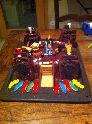 Recette Gâteau chateau fort 3D 2014