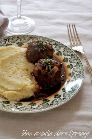 Recette Boulets sauce lapin (sans lapin!)