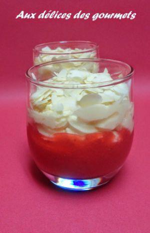 Recette Douceur de fraises