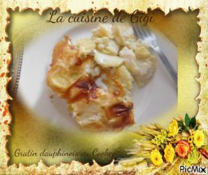Recette Gratin dauphinois au Cookeo