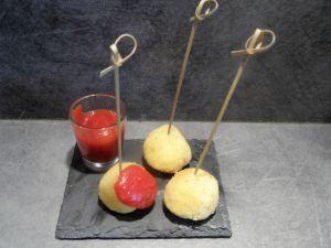 Recette Croquettes de risotto