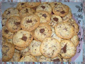 Recette Cookies du jour