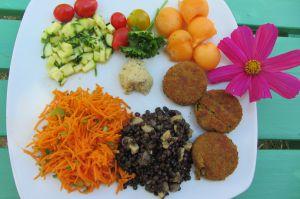 Recette Assiette vegan