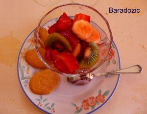 Recette Salade de fraises