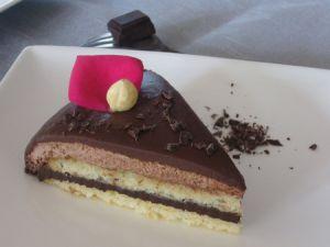 Recette Entremets au chocolat