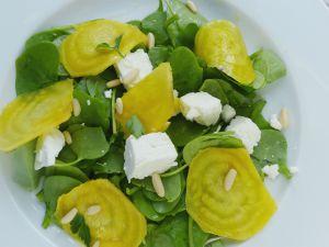 Recette Salade de pourpier à la fêta