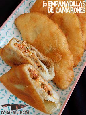 Recette Empanadillas de camarones