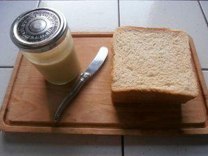 Recette Pâte à tartiner chocolat blanc & vanille