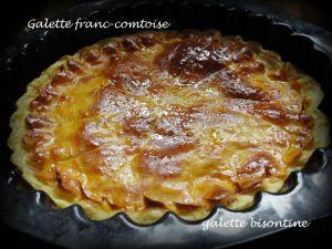 Recette Galette Bisontine: cette année la galette sera franc-comtoise!
