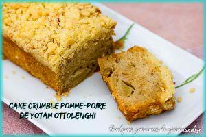 Recette Cake crumble pomme-poire de Yotam Ottolenghi