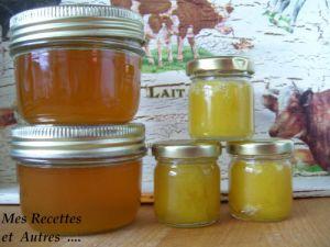 Recette Cramaillote de pissenlit ou gelee de fleurs de pissenlit a l'orange