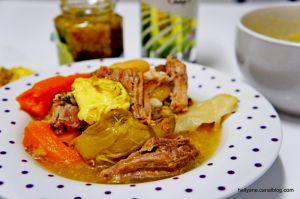 Recette Facile du POT AU FEU + mayonnaise à l'huile de caméline et à la fleur d'ail