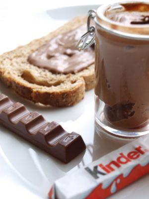 Recette Pâte à tartiner au Kinder ® Chocolat