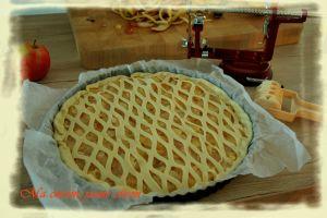 Recette Ma tarte aux pommes et compote