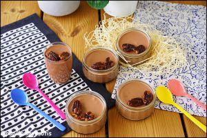 Recette Mousse au chocolat sans œufs by cyril lignac [#chocolat #homemade #faitmaison #tousencuisine #cyrillignac]