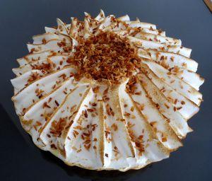 Recette Tarte citron meringue et coco