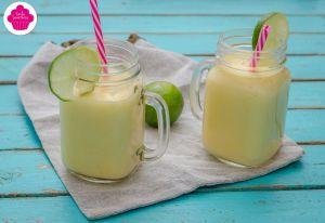 Recette Smoothie citron-coco-mangue - Mason jar