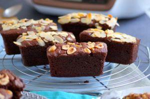 Recette Mini-cakes au chocolat et amandes au Cake Factory