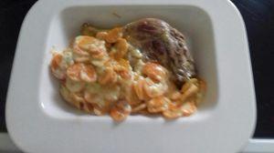 Recette Cuisse de canard et carottes à la crème