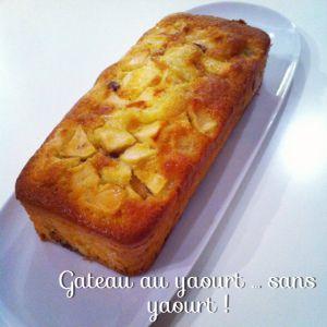 Recette Gâteau au yaourt… Sans yaourt