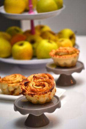 Recette Apple roses ou tartelettes roses aux pommes