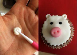Recette Cupcakes sur le thème des animaux de la ferme Tutoriel #3 le mouton
