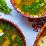 Recette Soupe depoulet àl'oseille