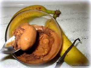 Recette Glace au chocolat/banane - 3 ingrédients - très facile