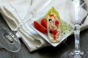 Recette Bouchées d'endive au surimi