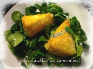 Recette Croquettes de camembert