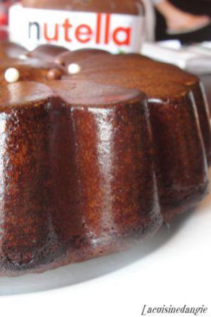 Recette Gâteau au Nutella