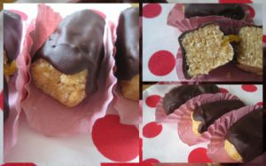 Recette Doigts au chocolat, gâteaux sans cuisson