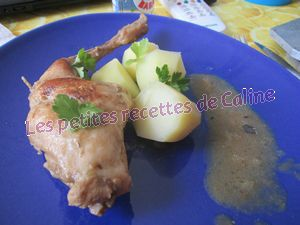 Recette Lapin aux speculoos