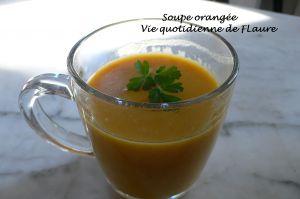 Recette Soupe orangée