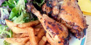 Recette Poulet au ketchup / poulet dans l'actifry