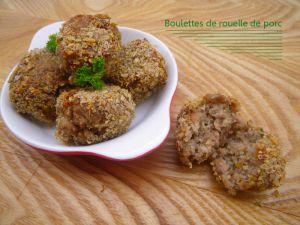 Recette 2 recettes en une : rouelle de porc aux oignons et vin rouge et son recyclage en boulettes