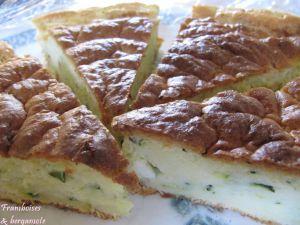 Recette Gâteau de courgettes
